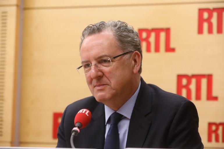 Richard Ferrand, secrétaire général de En Marche, le 8 mai 2017