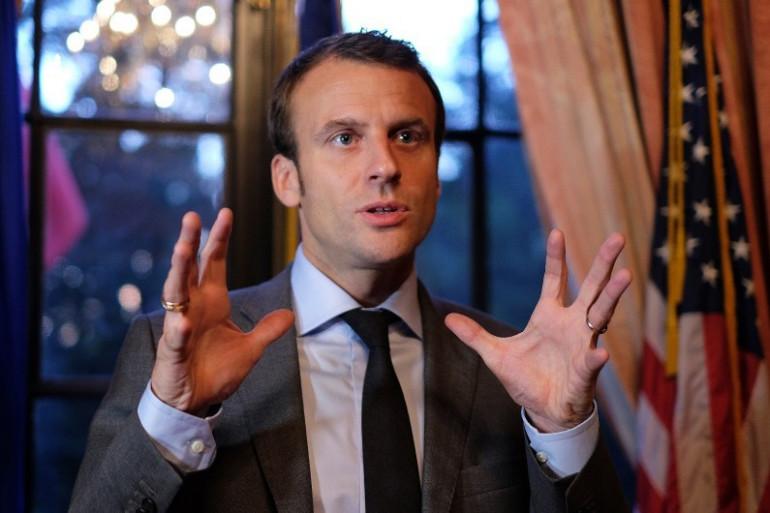 Emmanuel Macron à New York, le 24 juin 2015