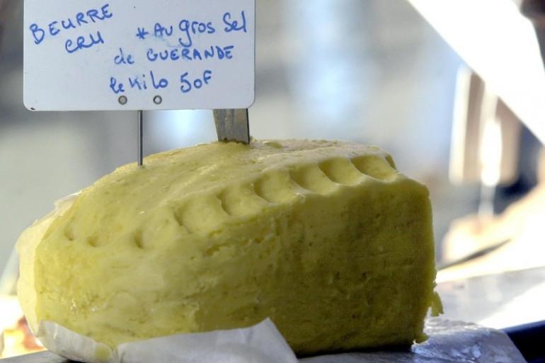 Une motte de beurre (Illustration)