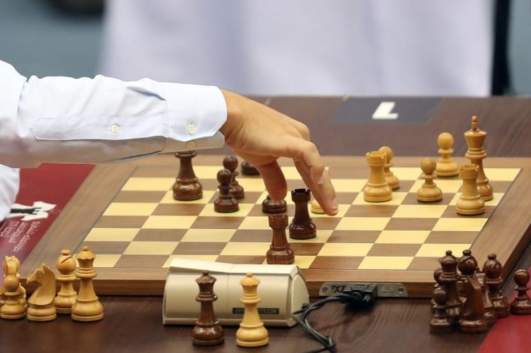 Une partie d'échecs disputée à Doha, en décembre 2016 (Illustration)