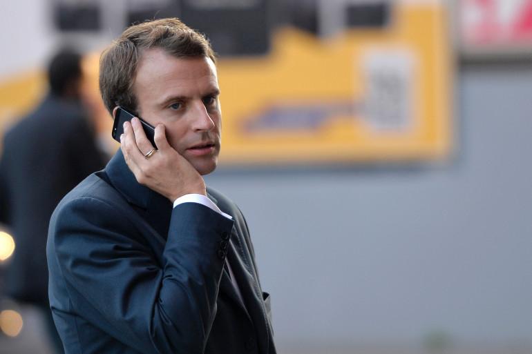 Emmanuel Macron, le 3 novembre 2014