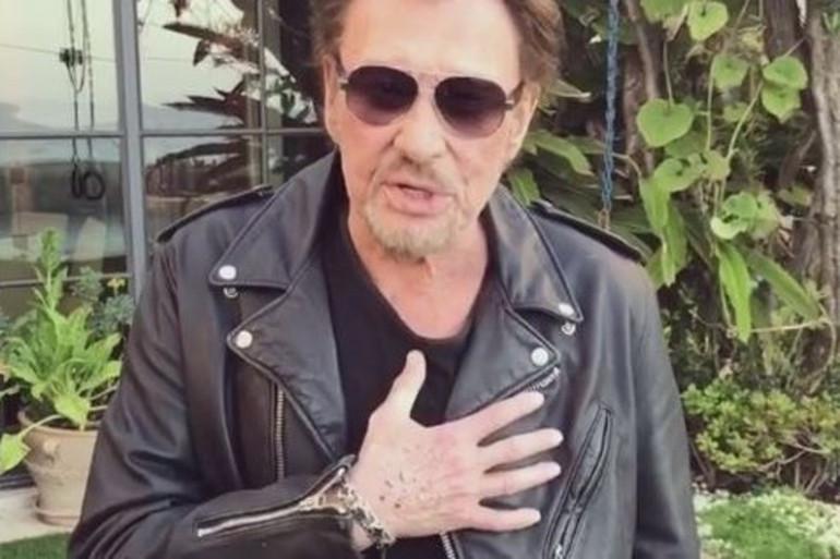 Johnny Hallyday remercie ses fans dans une vidéo postée sur les réseaux sociaux