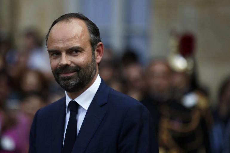 Le nouveau premier ministre, Édouard Philippe