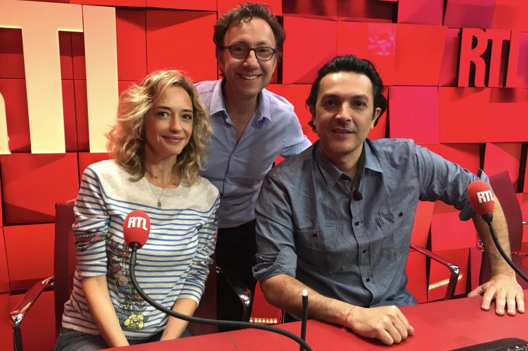 Hélène de Fougerolles, Olivier Sitruk et Stéphane Bern