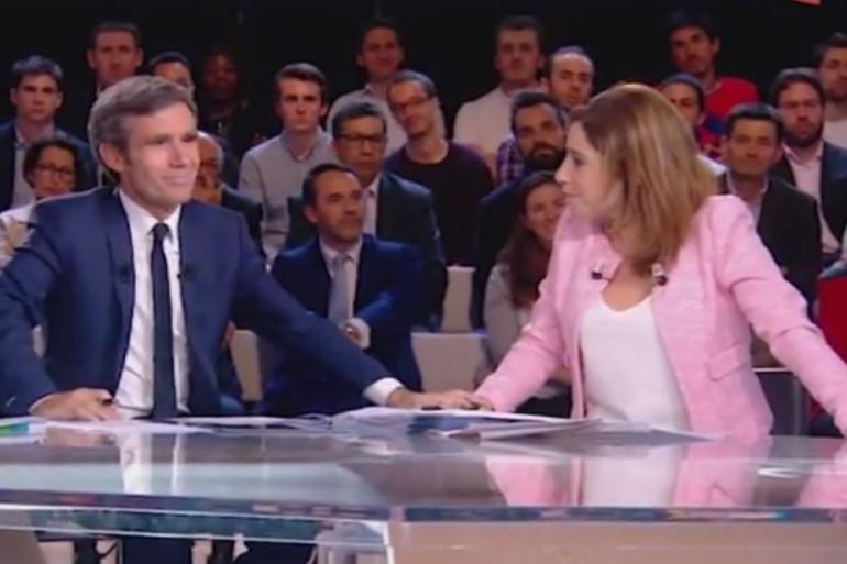 Léa Salamé rend hommage à David Pujadas après l'annonce de son éviction