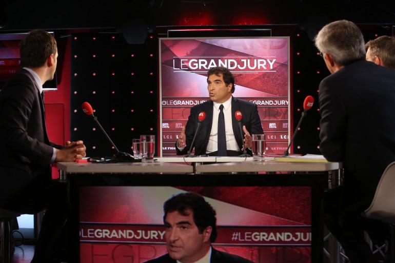 Christian Jacob invité du Grand Jury de RTL LCI et Le Figaro dimanche 21 mai 2017