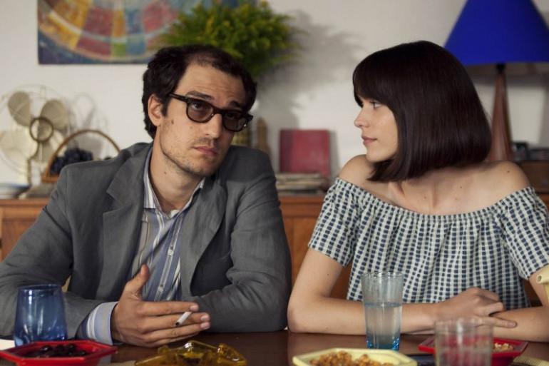 """Louis Garrel et Stacy Martin dans """"Le redoutable"""""""