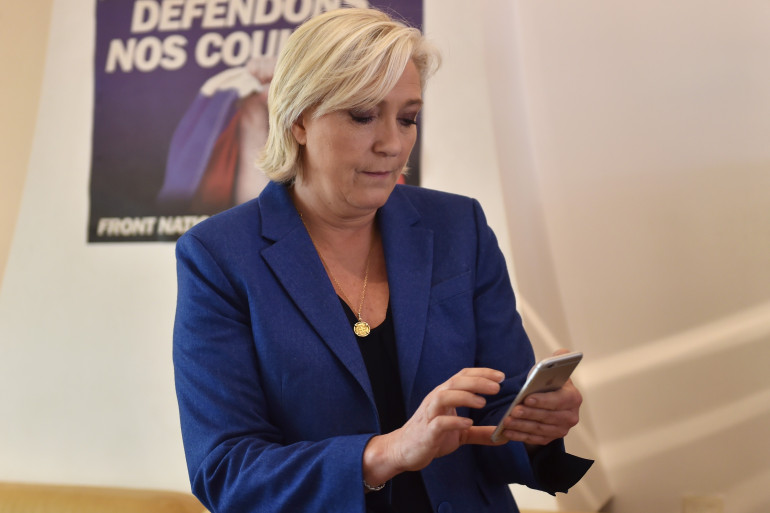 Marine Le Pen, le 19 mai 2017