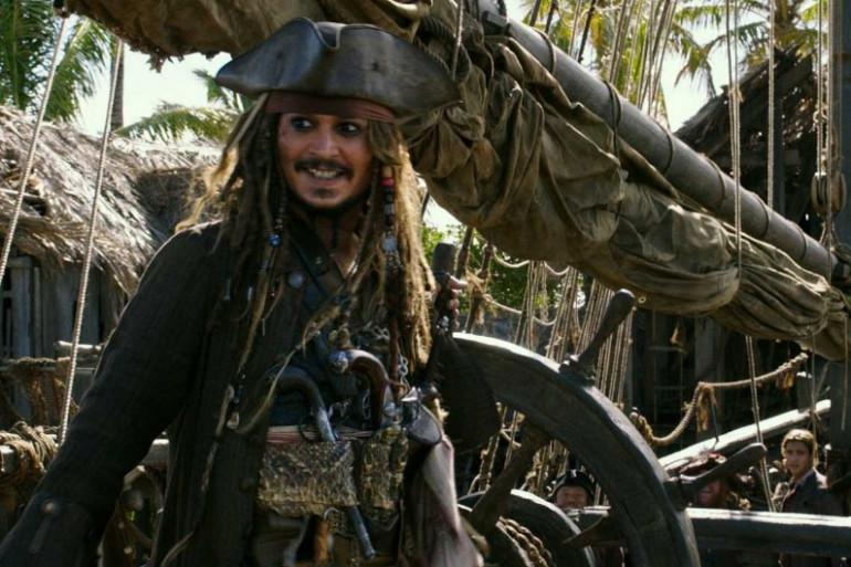 Johnny Depp est de retour dans le rôle de Jack Sparrow