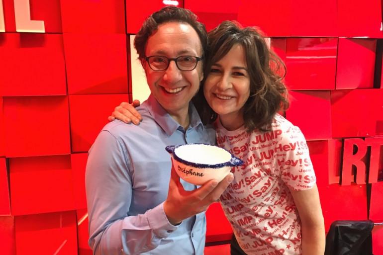 Valérie Lemercier et Stéphane Bern