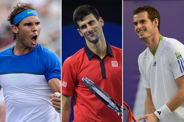 Rafael Nadal, Novak Djokovic et Andy Murray ont leur carte à jouer dans cette nouvelle édition du Grand-Chelem parisien.