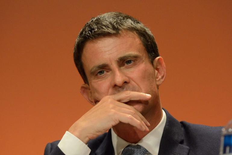 Manuel Valls à Paris le 7 mai.