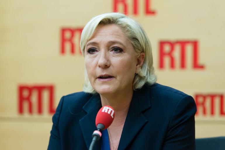 Marine Le Pen, invitée de RTL le 29 mai 2017