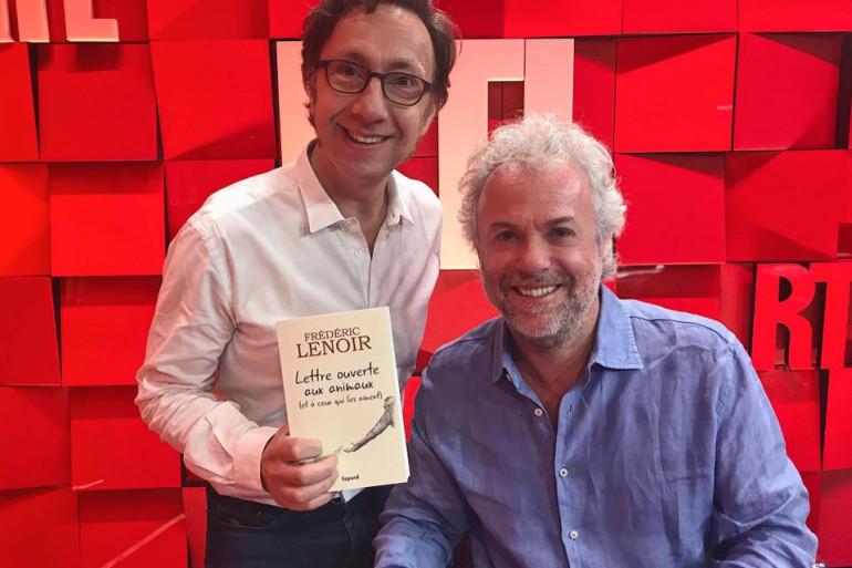 Frédéric Lenoir et Stéphane Bern