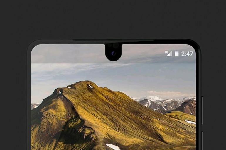L'Essential Phone s'inscrit dans les nouveaux standards du secteur avec son écran bord à bord