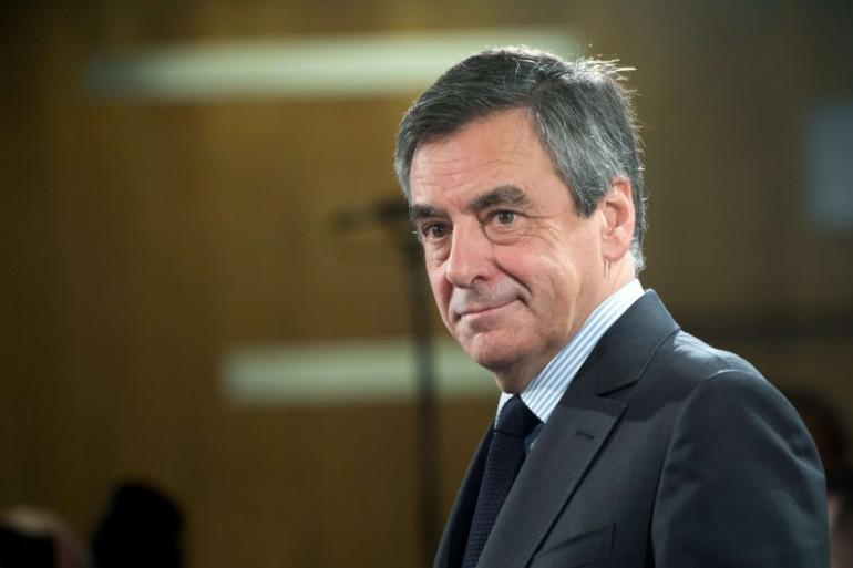 François Fillon, candidat Les Républicains à la présidentielle de 2017