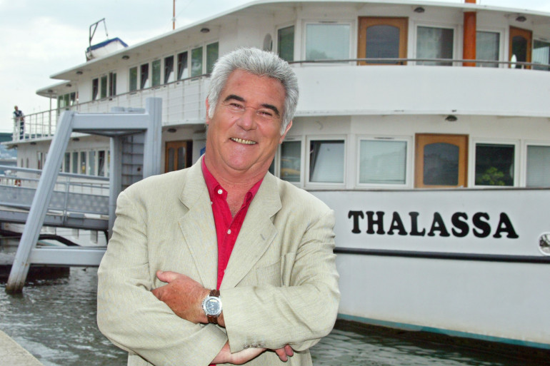 """Georges Pernoud présente le magazine """"Thalassa"""" depuis 1975"""