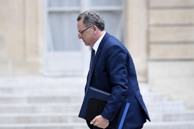 Richard Ferrand, ministre de la Cohésions des territoires, le 24 mai 2017