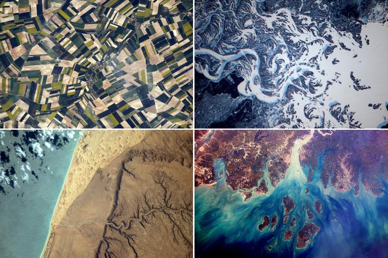 Durant son séjour dans l'espace, Thomas Pesquet a publié de superbes clichés de la Terre
