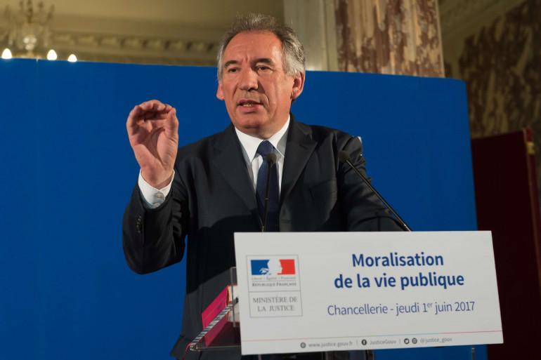 François Bayrou a dévoilé les grandes lignes du projet de moralisation de la vie publique jeudi 1er juin.