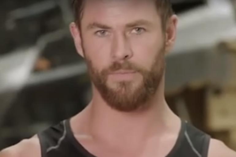 """Chris Hemsworth sur le tournage d'""""Avengers : Civil War"""""""