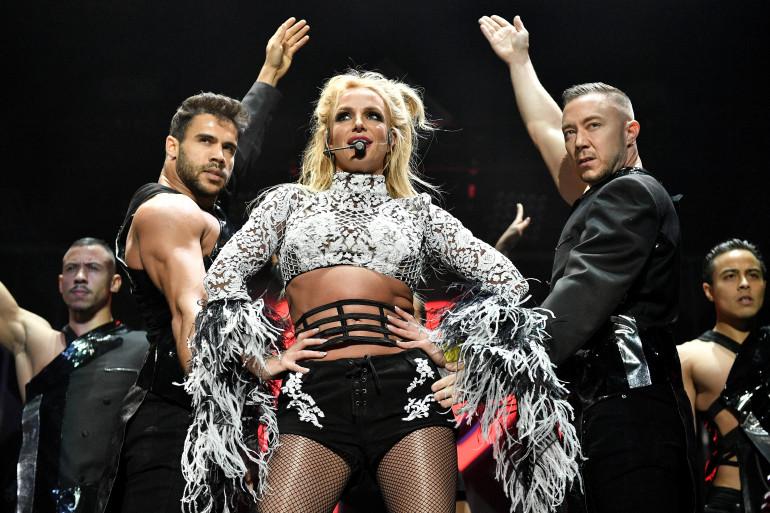 Britney Spears à Los Angeles, aux États-Unis le 2 décembre 2016