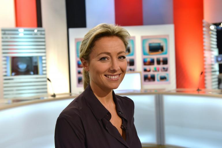 Anne-Sophie Lapix va remplacer David Pujadas à la présentation du JT de France 2.