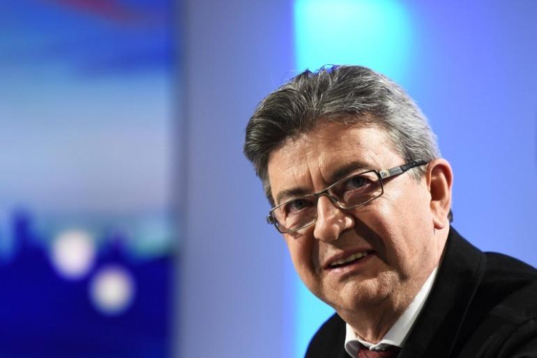 Jean-Luc Mélenchon, le leader de la France Insoumise
