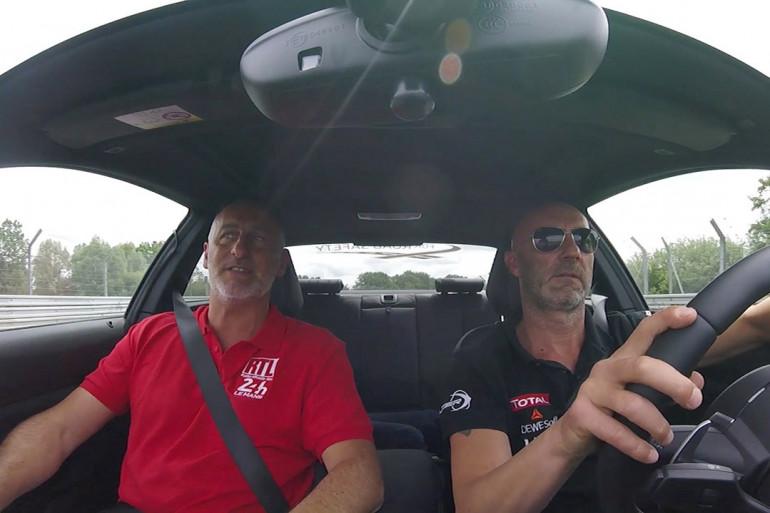 24H du Mans - Un tour de circuit avec Fabien Barthez
