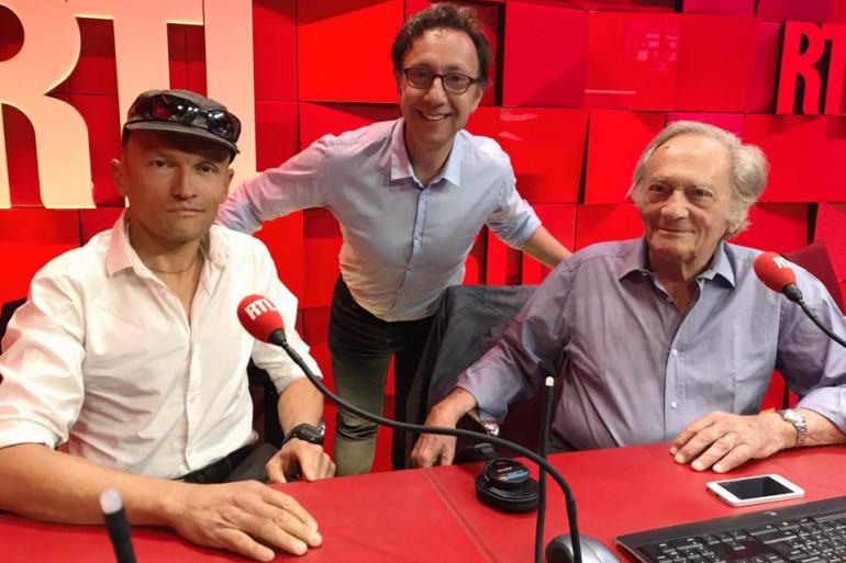 Philippe et Sylvain Tesson avec Stéphane Bern