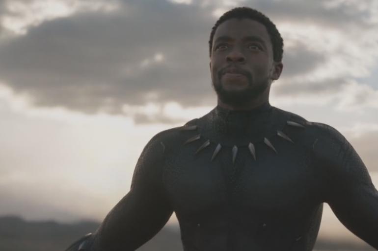 """Chadwick Boseman dans le rôle de Black Panther"""""""