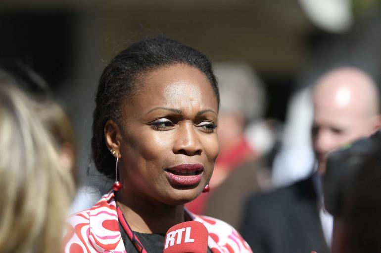 La ministre des sports Laura Flessel le 7 juin 2017 à Roland Garros.