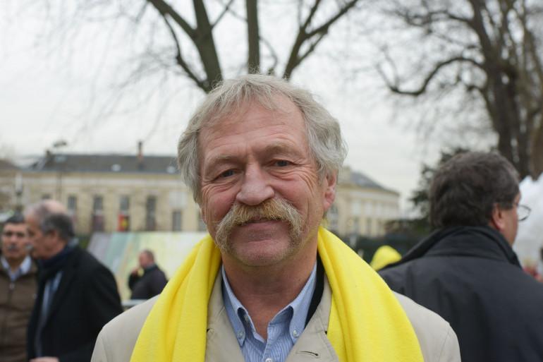 José Bové à Paris le 28 janvier 2016.