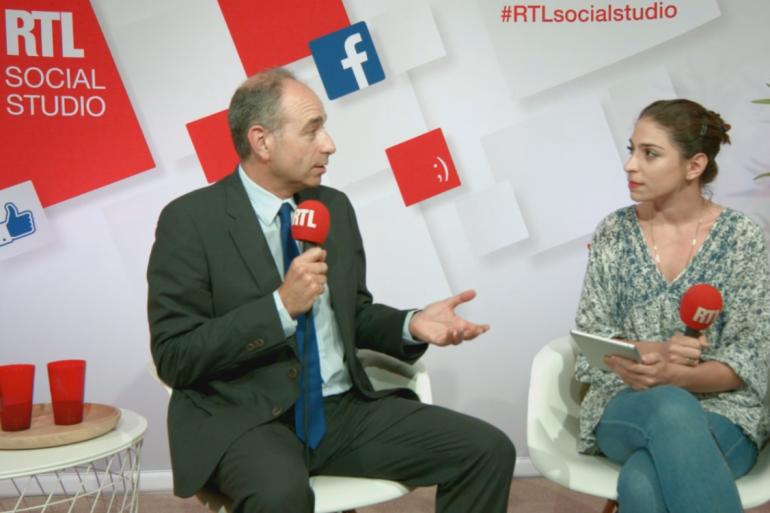 Jean-François Copé, dans le #RTLsocialstudio