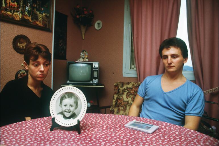 Christine et Jean-Marie Villemin, les parents de Grégory, en novembre 1984.