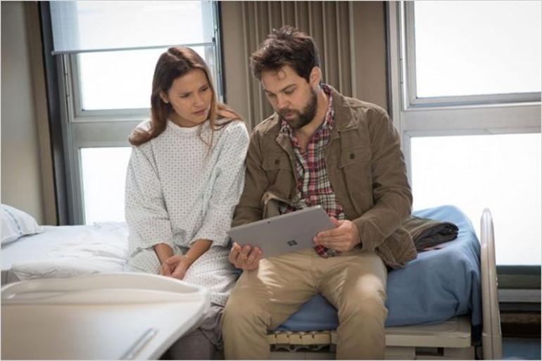 """Virginie Ledoyen interprète le personnage principal de """"Juste un regard"""""""