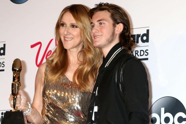 Célin eDion et René-Charles Angelil le 22 mai 2016 à Las Vegas.