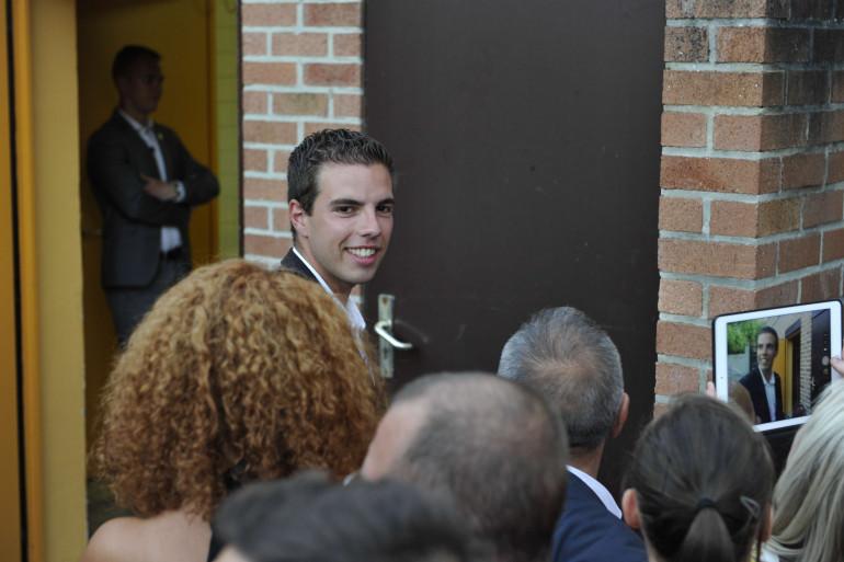 Ludovic Pajot (FN), plus jeune élu de la nouvelle Assemblée nationale.