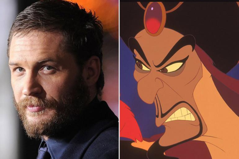 """D'après le """"Sun"""", Tom Hardy aurait été contacté pour incarné Jafar dans le prochain film de Guy Ritchie."""
