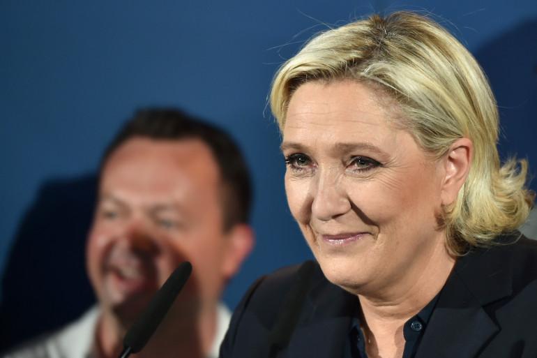 Marine Le Pen, le 18 juin 2017 à Paris