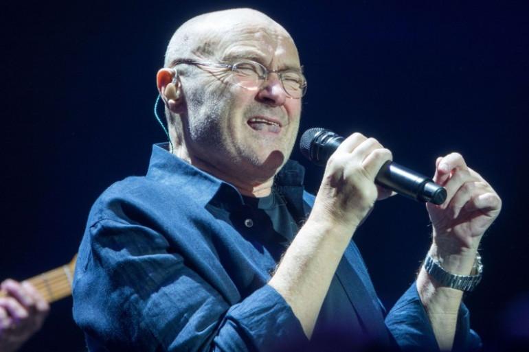 Phil Collins a démarré sa série de concerts à Paris