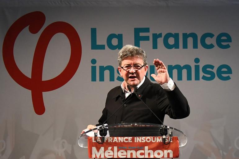 Jean-Luc Mélenchon à Marseille le 18 juin 2017
