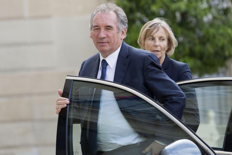 François Bayrou et Marielle de Sarnez, le 21 juin 2017