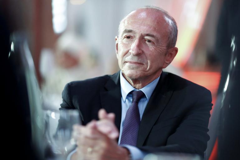 Gérard Collomb à Paris le 20 juin 2017