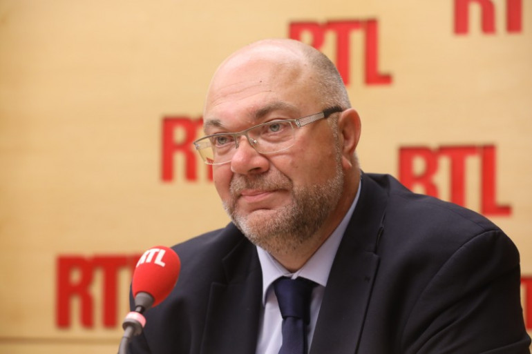 Stéphane Travert, ministre de l'agriculture le 23 juin 2017