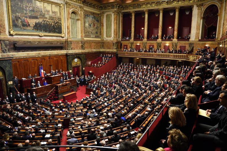 Parlement réuni en Congrès à Versailles