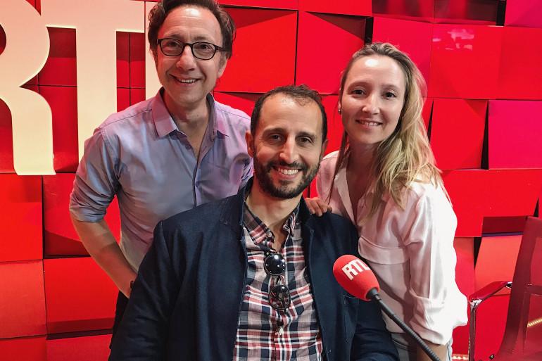 Audrey Lamy, Arié Elmaleh et Stéphane Bern