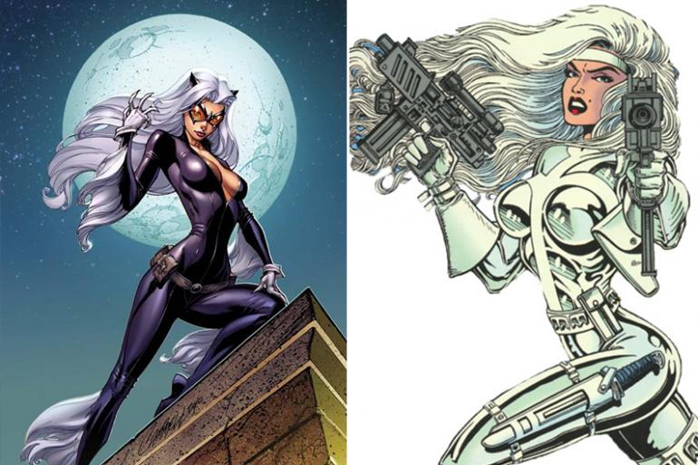 Silver Sable et Black Cat, prochaines héroïnes Marvel au cinéma