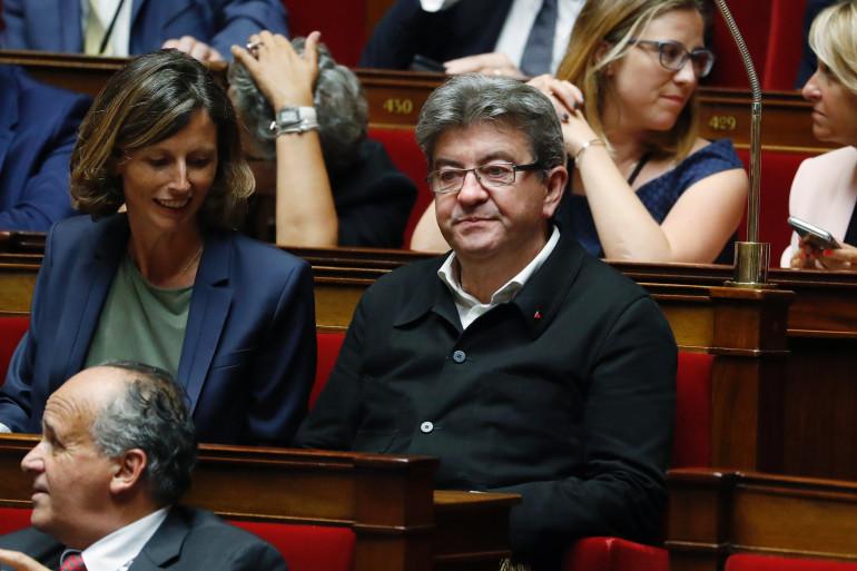 Jean-Luc Mélenchon le 27 juin à l'Assemblée nationale