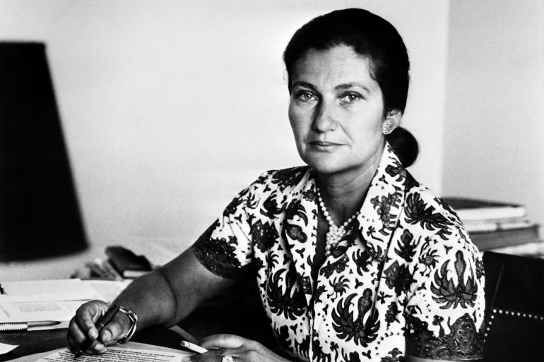 Simone Veil, le 1er janvier 1974 à Paris